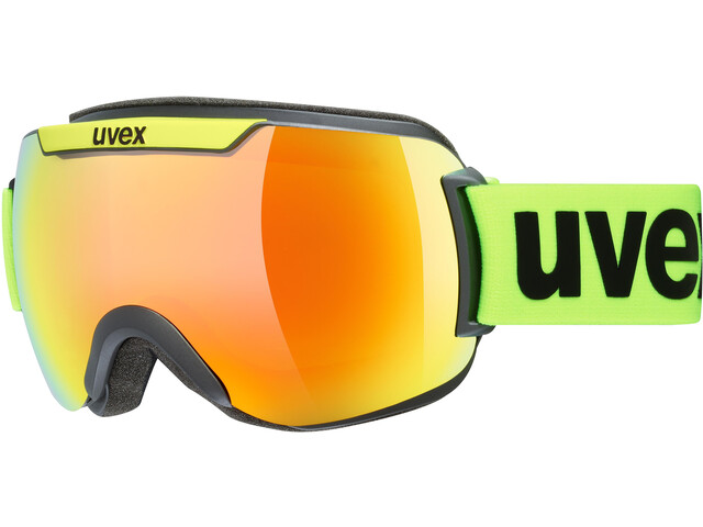 UVEX Downhill 2000 CV Masque, black mat/colorvision orange fire